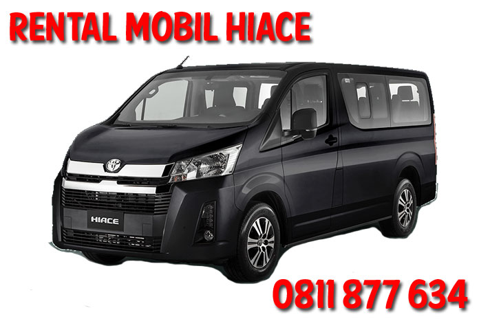 rental mobil Hiace harga murah saungrental