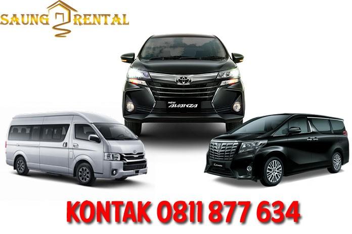 sewa rental mobil murah saung rental